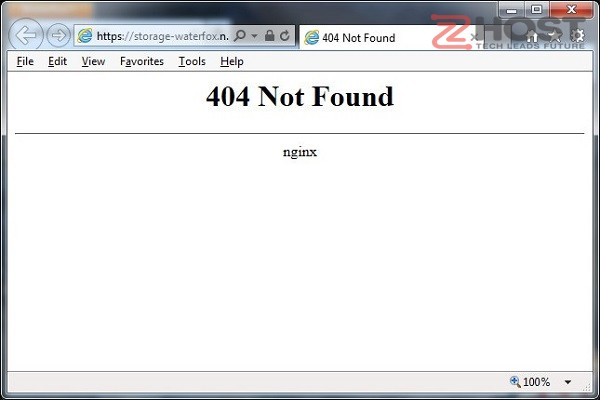 failed to load resource the server responded with a status of 404 not found la gi